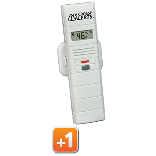 La Crosse Alerts Mobile 926-25000-BP Wireless Monitor Add-On Sensor Only for existing La Crosse Alerts Mobile System