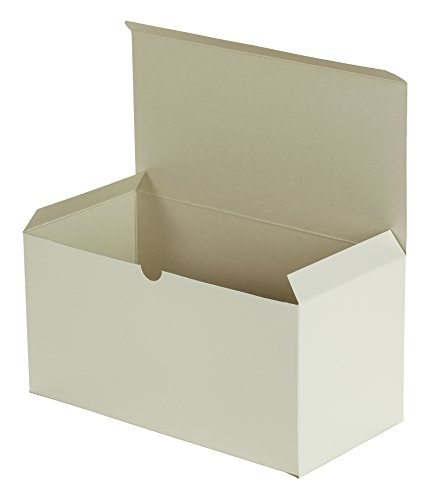 - Premier Retail Packaging 10 Count White Gloss Gift Box, 12 x 6 x 6