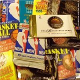 200 old basketball cards in factory sealed wax packs. You will receive 15 packs per lot which contain over 200 cards total. A mix of Fleer, Upper Deck, Hoops, Skybox. Ranging from 1990-2000. You might be able to pull cards of Jordan, Bird, Barkley, Magic and many other NBA Legends