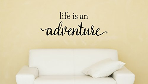 Davis Instruments Life Is An Adventure Wall Decal