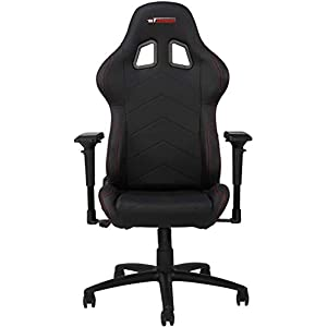 GT OMEGA PRO Racing Gaming Chair with Lumbar Support – Ergonomic PVC Leather Office Chair with 4D Adjustable Armrest…