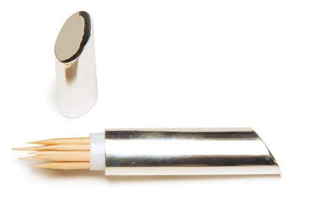 - SILVER PLATED TOOTHPICK HOLDER