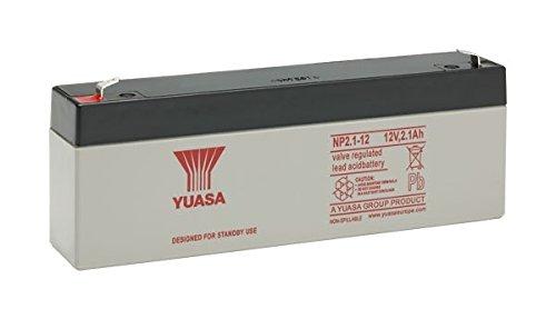 YUASA NP2.1/ /12/Blei S/äure VRLA 2.1/Ah 12/V Akku UPS