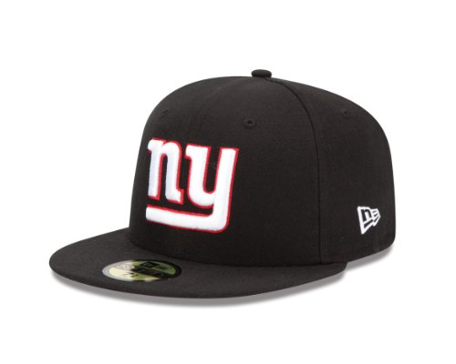 NFL New York Giants Black 59Fifty Baseball Cap (6.75-Inch)
