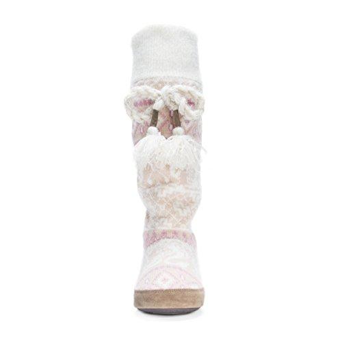 Pictures of MUK LUKS Women's Angie Slipper Light Light Pink 6