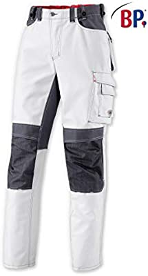 BP 1789 Performance color blanco Pantalones de trabajo talla 52