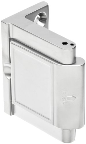 Pemko Privacy Door Latch, Polished Chrome finish, 1-1/2