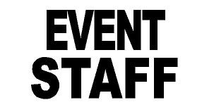 2.5 X 10 Inch Reflective Iron on Letters- Silver (EVENT STAFF)
