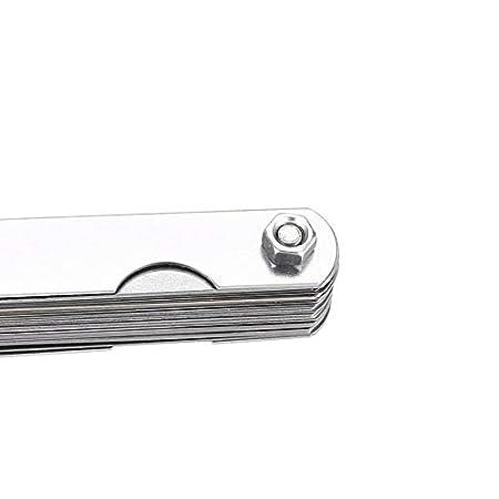 Durable 32 Gap Filler - Cuchillas métricas (calibre 0,04-0,88 mm, grosor del pasador): Amazon.es: Instrumentos musicales