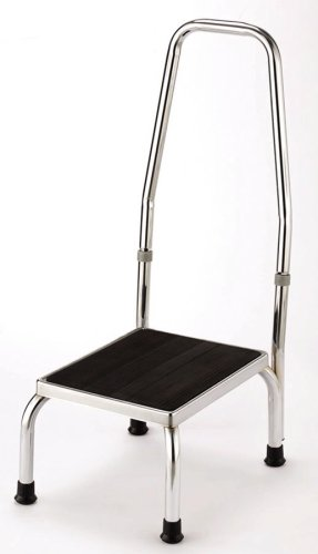 Essential Medical Supply Chrome Plated Foot Stool with ()