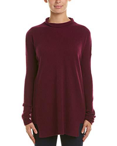White + Warren Womens Mock Neck Cashmere Sweater, Xs