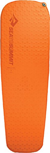 Sea to Summit Ultra Light Self-Inflating Lightweight Camping & Backpacking Sleeping Mat, Orange, Regular