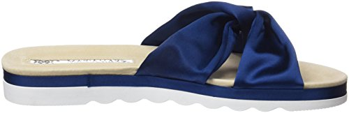 Maria Mare Women's Diamond Open Toe Sandals Blue (Satin 2 Cobalto) oktFyz