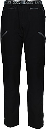 Angel Cola Men's Outdoor Hiking & Climbing Utility Midweight Pants PM5311 Black 34