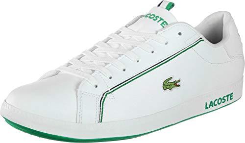 Lacoste Bianche wht Wht Graduate Sneakers 1 119 082 grn grn da Sma uomo rnrgzv