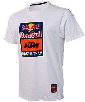 KTM Red Bull Racing Team Camiseta blanca (XXXL) URB1857507: Amazon.es: Coche y moto
