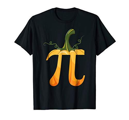 Funny Pumpkin Pi Tshirt Gift Halloween Costume Math Pun]()