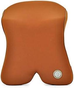 ODDINER Car Nackenkissen Memory-Foam-Car Nackenkissen Nackenstützkissen Kopfstütze Lendenwirbelstütze for Auto-Rückenkissen Nackenpolster (Farbe : Kaffee)