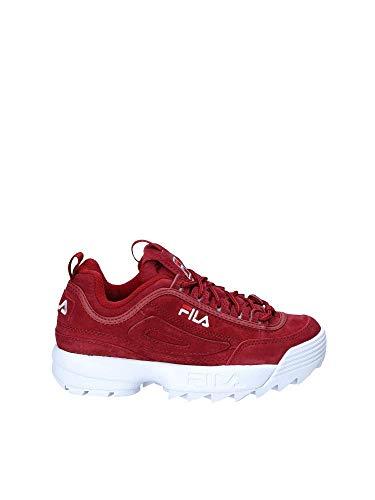 Chaussures Fila Femmes Sports 1010553 Bordeaux TxaxCP