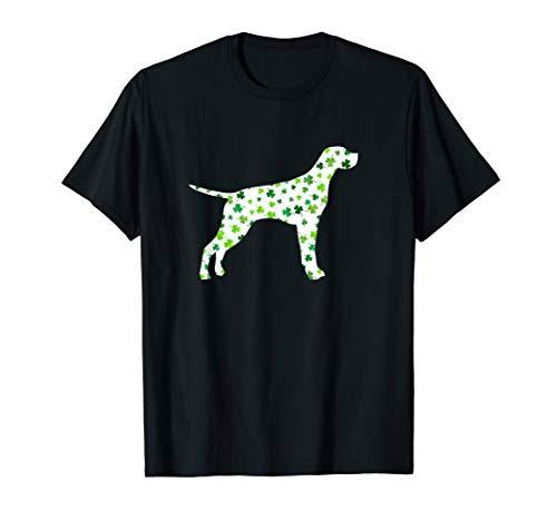 (English Pointer St Patrick's Day Dog T-Shirt)