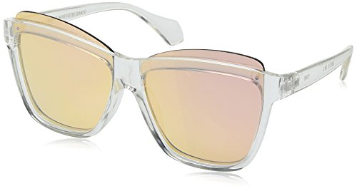 Item 8 Sm.2 Square Clear Women's Designer Sunglasses by Foster - Item Sunglasses 8