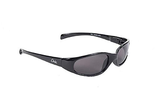 Chix Heavenly Women's Sunglasses Black Frame With Smoke - Motorcycle Womens Sunglasses Riding