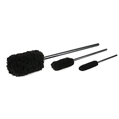 Chemical Guys Acc_M10 Wheel Woolies Wheel Brushes (3 Brushes): Automotive