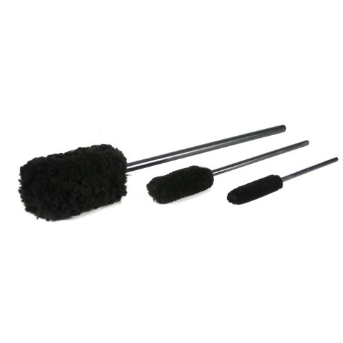 Chemical Guys ACC_M10 Wheel Woolies Wheel Brushes (3 Brushes) (Chemical Guys All Clean)