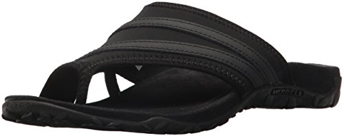 Merrell Women's Terran Ari Wrap Sport Sandal, Black, 9 Medium US ()