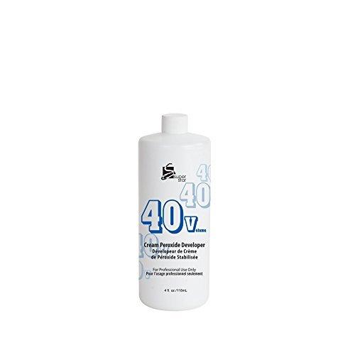 Super Star Cream Peroxide Developer, 4 Ounce