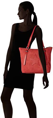 Borsa S rusty 94 bags Red Arancione Donna 802 39 4452 oliver xqgwYqfZ