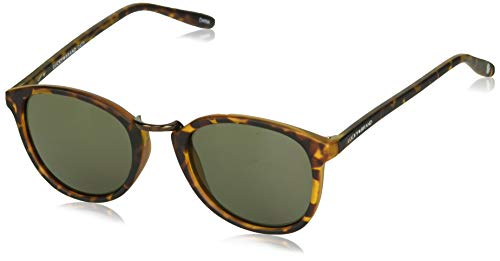 Lucky Indo Round Sunglasses, Tortoise, 50 mm