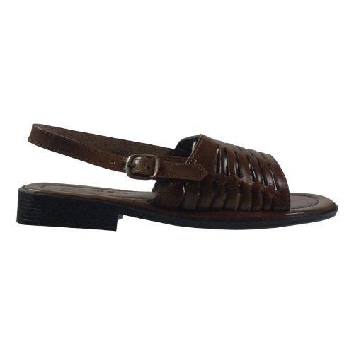 Andrea Doria 32037-739 Damen Schuhe Premium Qualität Sandale Braun (Braun)