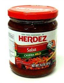 Herdez Salsa Casera Mild Snack Size