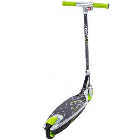Sturdy, Tough and Smooth to Ride Huffy Electric Green Machine 12 Volt Battery-Powered Scooter With Rear Foot Brake, Easy to Fold for Storage,a Thrilling Gift for Kids