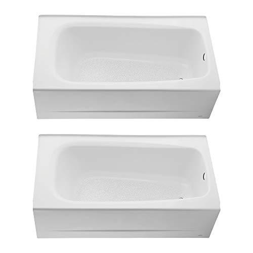 - American Standard Cambridge 60 x 32 Inch Integral Bathroom Bathtub (2 Pack)