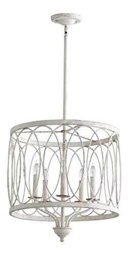 Persian White Sausalito 5 Light Pendant with Shade