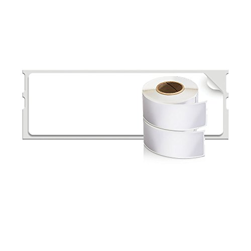 DYMO LW Mailing Address Labels for LabelWriter Label Printers, White, 1-1/8 x 3-1/2, 2 rolls of 350
