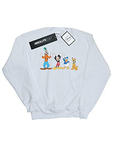 Garçon Mickey Mouse shirt Disney Friends Sweat Blanc 5dqwExH