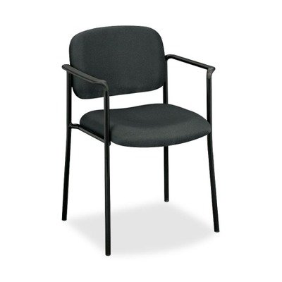 BSXVL616VA19 - Basyx VL616 Series Stacking Guest Chair with Arms by Basyx