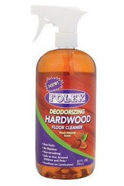 Folex Dwf32 Deodorizing Hardwood Floor Cleaner, 32 Oz., Almond Scent...