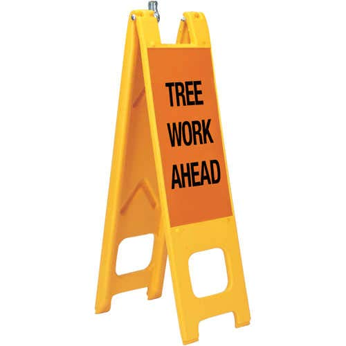 Warning Narrowcades Tree Work Ahead