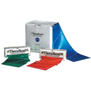Thera-Band Professional Resistance Band - Blue, X-Heavy - 50 yd roll