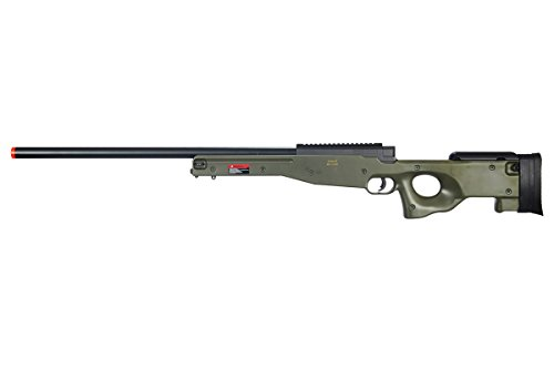 Well L96 AWP Bolt Action Airsoft Sniper Rifle (Green) ()
