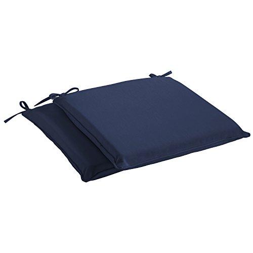 Mozaic Sunbrella AMCS111379 Indoor/Outdoor Cushion Corded Chair Pad Set, 20