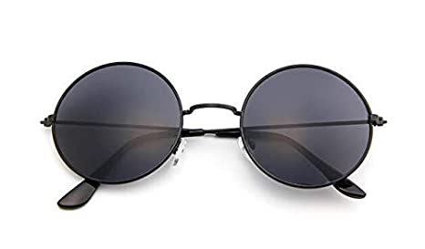 DongOJO Klassische runde Sonnenbrille Herren Kleine Vintage