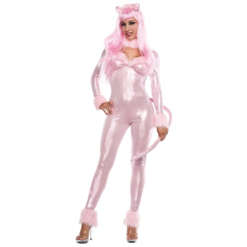 Starline Costumes Sweet Panther, Pink, Small