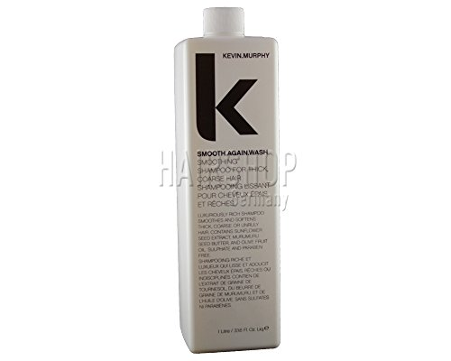 kevin Murphy smooth Again, smoothing shampoo for thick coarse hair Liter by Kevin Murphy