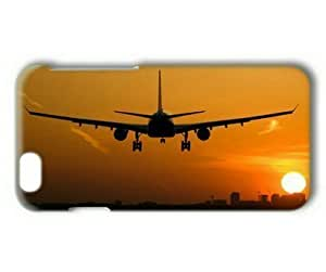 """Airplane at Sunset 002 Hard Protective 3D Cover Case for Iphone 6 Plus(5.5"""") in GUO Shop"""