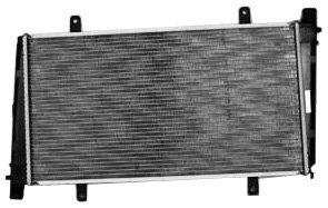 TYC 2400 Volvo 1-Row Plastic Aluminum Replacement -
